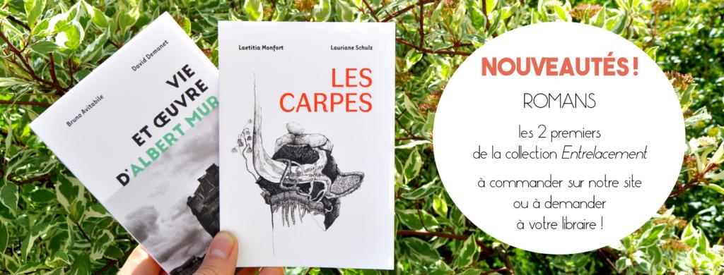 Les Carpes - Albert Mur - collection entrelacement editions des Veliplanchistes